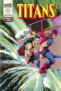 Cover Thumbnail for Titans (Semic S.A., 1989 series) #149