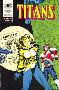 Cover Thumbnail for Titans (Semic S.A., 1989 series) #150