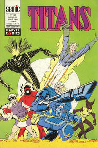 Cover Thumbnail for Titans (Semic S.A., 1989 series) #151