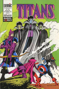 Cover Thumbnail for Titans (Semic S.A., 1989 series) #152
