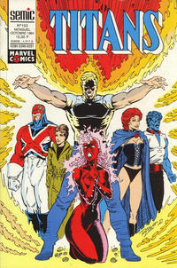 Cover Thumbnail for Titans (Semic S.A., 1989 series) #153