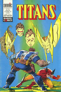 Cover Thumbnail for Titans (Semic S.A., 1989 series) #154
