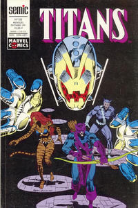 Cover Thumbnail for Titans (Semic S.A., 1989 series) #155