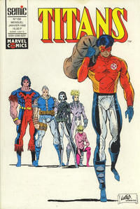 Cover Thumbnail for Titans (Semic S.A., 1989 series) #156