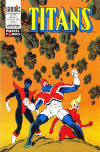 Cover Thumbnail for Titans (Semic S.A., 1989 series) #157