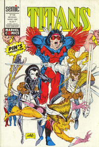 Cover Thumbnail for Titans (Semic S.A., 1989 series) #158