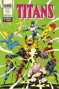 Cover Thumbnail for Titans (Semic S.A., 1989 series) #161