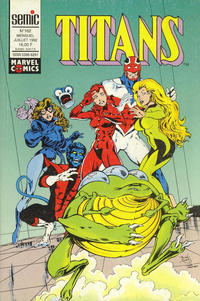 Cover Thumbnail for Titans (Semic S.A., 1989 series) #162