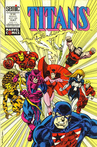 Cover Thumbnail for Titans (Semic S.A., 1989 series) #163