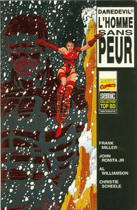 Cover Thumbnail for Top BD (Semic S.A., 1989 series) #35 - Daredevil - L'homme sans peur