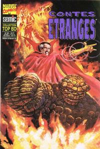 Cover Thumbnail for Top BD (Semic S.A., 1989 series) #40 - Contes étranges