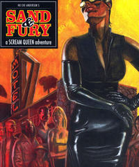 Cover Thumbnail for Sand & Fury: A Scream Queen Adventure (Fantagraphics, 2010 series)