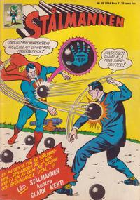 Cover Thumbnail for Stålmannen (Centerförlaget, 1949 series) #18/1966