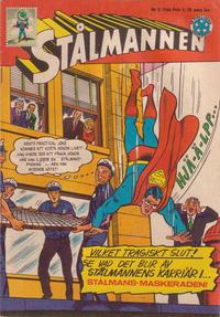 Cover Thumbnail for Stålmannen (Centerförlaget, 1949 series) #3/1966