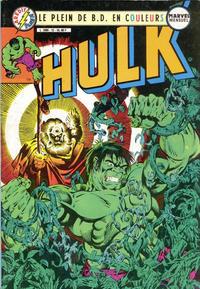 Cover Thumbnail for Hulk (Arédit-Artima, 1983 series) #12