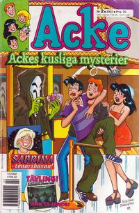 Cover Thumbnail for Acke (Egmont, 1997 series) #2/2002