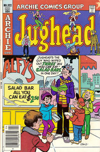 Cover Thumbnail for Jughead (Archie, 1965 series) #322