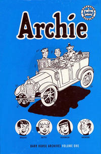 Cover Thumbnail for Archie Archives (Dark Horse, 2011 series) #1