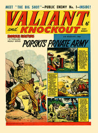 Cover Thumbnail for Valiant and Knockout (IPC, 1963 series) #3 August 1963