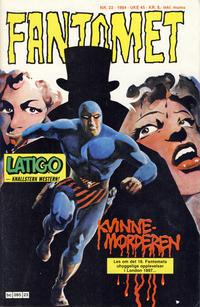 Cover Thumbnail for Fantomet (Semic, 1976 series) #23/1984