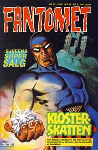 Cover Thumbnail for Fantomet (Semic, 1976 series) #25/1984