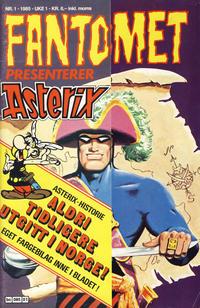 Cover Thumbnail for Fantomet (Semic, 1976 series) #1/1985