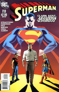 Cover for Superman (DC, 2006 series) #713 [10 for 1 Variant]