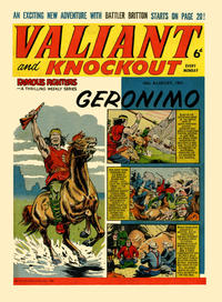 Cover Thumbnail for Valiant and Knockout (IPC, 1963 series) #10 August 1963