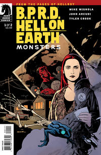 Cover Thumbnail for B.P.R.D. Hell on Earth: Monsters (Dark Horse, 2011 series) #1 [80] [Sook cover]