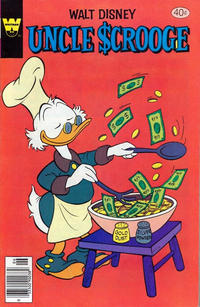 Cover Thumbnail for Uncle Scrooge (Western, 1963 series) #165 [Whitman Variant]