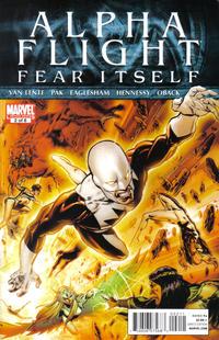 Cover Thumbnail for Alpha Flight (Marvel, 2011 series) #2
