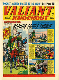 Cover Thumbnail for Valiant and Knockout (IPC, 1963 series) #31 August 1963