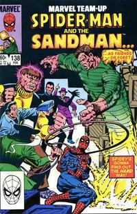 Cover Thumbnail for Marvel Team-Up (Marvel, 1972 series) #138 [Direct]
