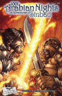 Cover Thumbnail for 1001 Arabian Nights: The Adventures of Sinbad (Zenescope Entertainment, 2008 series) #6 [Cover A - Paolo Pantalena]