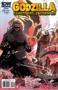 Cover for Godzilla: Gangsters and Goliaths (IDW, 2011 series) #2 [Cover A James Stokoe]