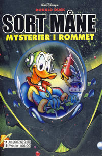 Cover Thumbnail for Donald Duck Tema pocket; Walt Disney's Tema pocket (Hjemmet / Egmont, 1997 series) #Sort måne Mysterier i rommet
