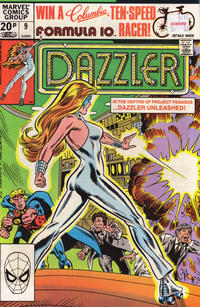 Cover Thumbnail for Dazzler (Marvel, 1981 series) #9 [British]