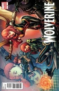 Cover for Wolverine (Marvel, 2010 series) #9
