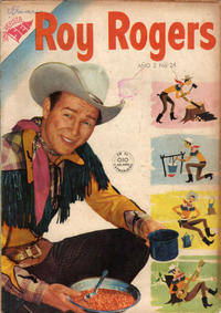 Cover Thumbnail for Roy Rogers (Editorial Novaro, 1952 series) #24