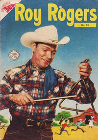Cover Thumbnail for Roy Rogers (Editorial Novaro, 1952 series) #29