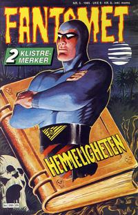 Cover Thumbnail for Fantomet (Semic, 1976 series) #5/1985