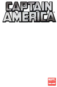 Cover Thumbnail for Captain America (Marvel, 2011 series) #1 [Blank Variant]