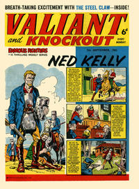 Cover Thumbnail for Valiant and Knockout (IPC, 1963 series) #7 September 1963