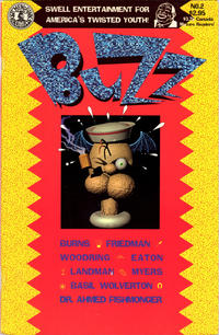 Cover Thumbnail for Buzz (Kitchen Sink Press, 1990 series) #2