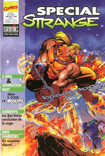 Cover for Spécial Strange (Semic S.A., 1989 series) #110
