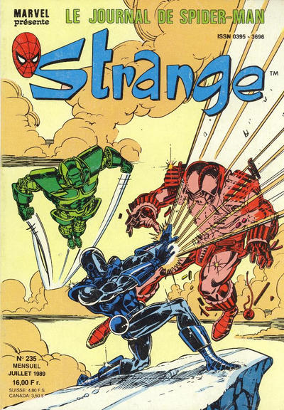 Cover for Strange (Semic S.A., 1989 series) #235