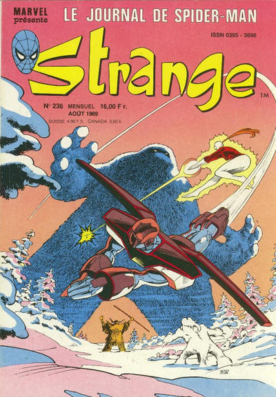 Cover for Strange (Semic S.A., 1989 series) #236