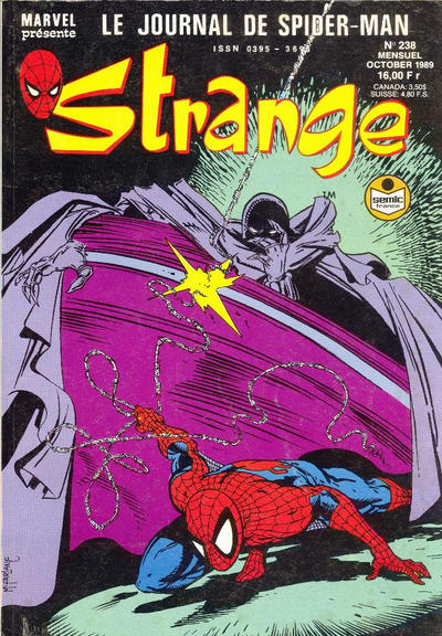 Cover for Strange (Semic S.A., 1989 series) #238