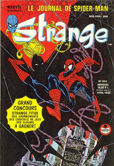 Cover for Strange (Semic S.A., 1989 series) #244