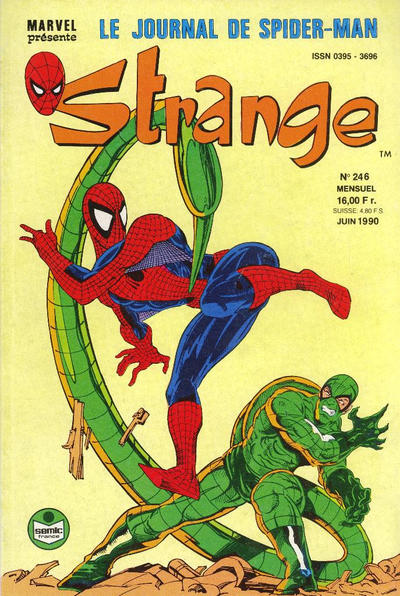 Cover for Strange (Semic S.A., 1989 series) #246